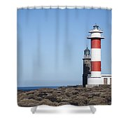 Two Light Houses Shower Curtain