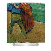 Two Lovers Shower Curtain