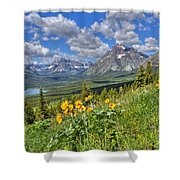 Two Medicine Valley Shower Curtain