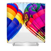 Two Pair Shower Curtain