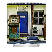 Two Pumps Shower Curtain