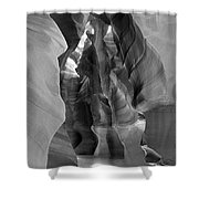Two Shafts Shower Curtain