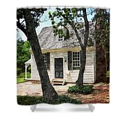 Two Tree Cottage Shower Curtain