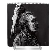 Two Whistles  1908 Shower Curtain