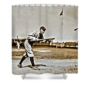 Ty Cobb Painting Shower Curtain