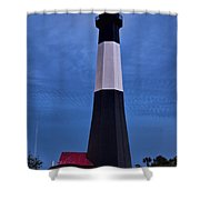 Tybee Island Evening Light Shower Curtain