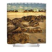 Tybee Island Landscape Shower Curtain