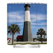 Tybee Island Lighthouse Shower Curtain