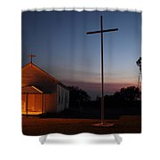 Tye Church 2am-104799 Shower Curtain