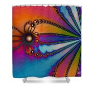 Tye Dye Shower Curtain