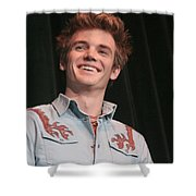 Tyler Hilton Shower Curtain