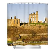 Tynemouth Priory And Castle Shower Curtain