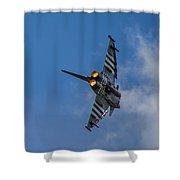 Typhoon Jet Shower Curtain