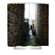 Typical English Back Alley Shower Curtain