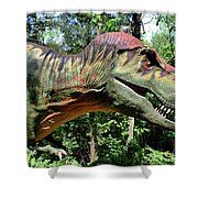 Tyrannosaurus Rex  T. Rex Shower Curtain
