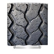 Tyre Tread Shower Curtain