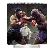Tyson/holyfield Shower Curtain