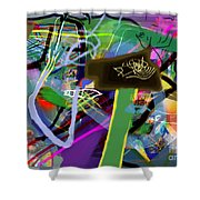 Tzaddik 6g Shower Curtain