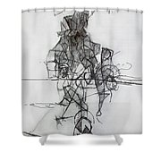 Tzadik 4 Shower Curtain