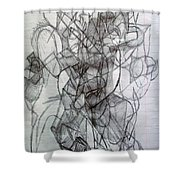Tzadik 5 Shower Curtain