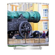 Tzar Cannon Of Moscow Kremlin - Square Shower Curtain