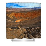Ubehebe At Death Valley Shower Curtain