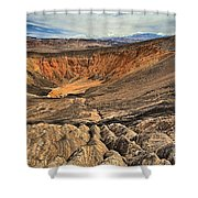 Ubehebe Crater Shower Curtain