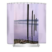 Ucluelet In October Shower Curtain