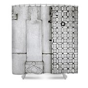 Udaipur City Palace Door Shower Curtain
