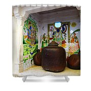 Udaipur City Palace Rajasthan India Queens Kitchen Shower Curtain