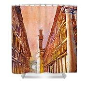 Uffizi- Florence Shower Curtain