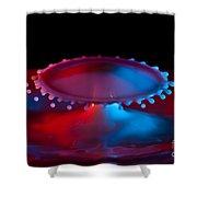 Ufo Splash Shower Curtain