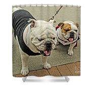 Uga And Cindy Shower Curtain