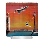 Uglydream911 Shower Curtain