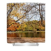 Ujazdowski Park In Warsaw Shower Curtain by Artur Bogacki