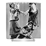 Ukrainian Folk Dancers Shower Curtain