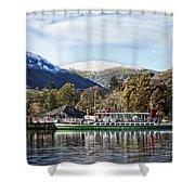 Ullswater Pleasure Ship Shower Curtain