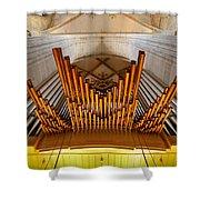 Ulm Pipe Organ Shower Curtain