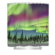 Ultrawide Aurora 4 - Feb 21, 2015 Shower Curtain