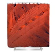 Uluru 1 Shower Curtain
