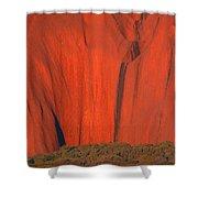 Uluru 2 Shower Curtain