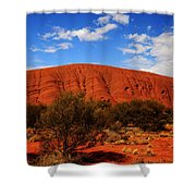 Uluru Central Australia Shower Curtain