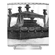 Ulysses Grant Funeral Shower Curtain
