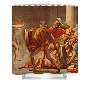Ulysses Revenge On Penelopes Suitors Shower Curtain