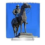 Ulysses S. Grant Guards The United States Capitol Shower Curtain