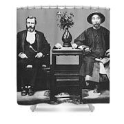 Ulysses S. Grant Visits China Shower Curtain