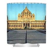 Umaid Bhawan Palace Shower Curtain