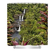 Umauma Falls Shower Curtain