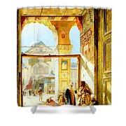 Umayyad Mosque Shower Curtain
