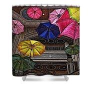 Umbrella Fun Shower Curtain